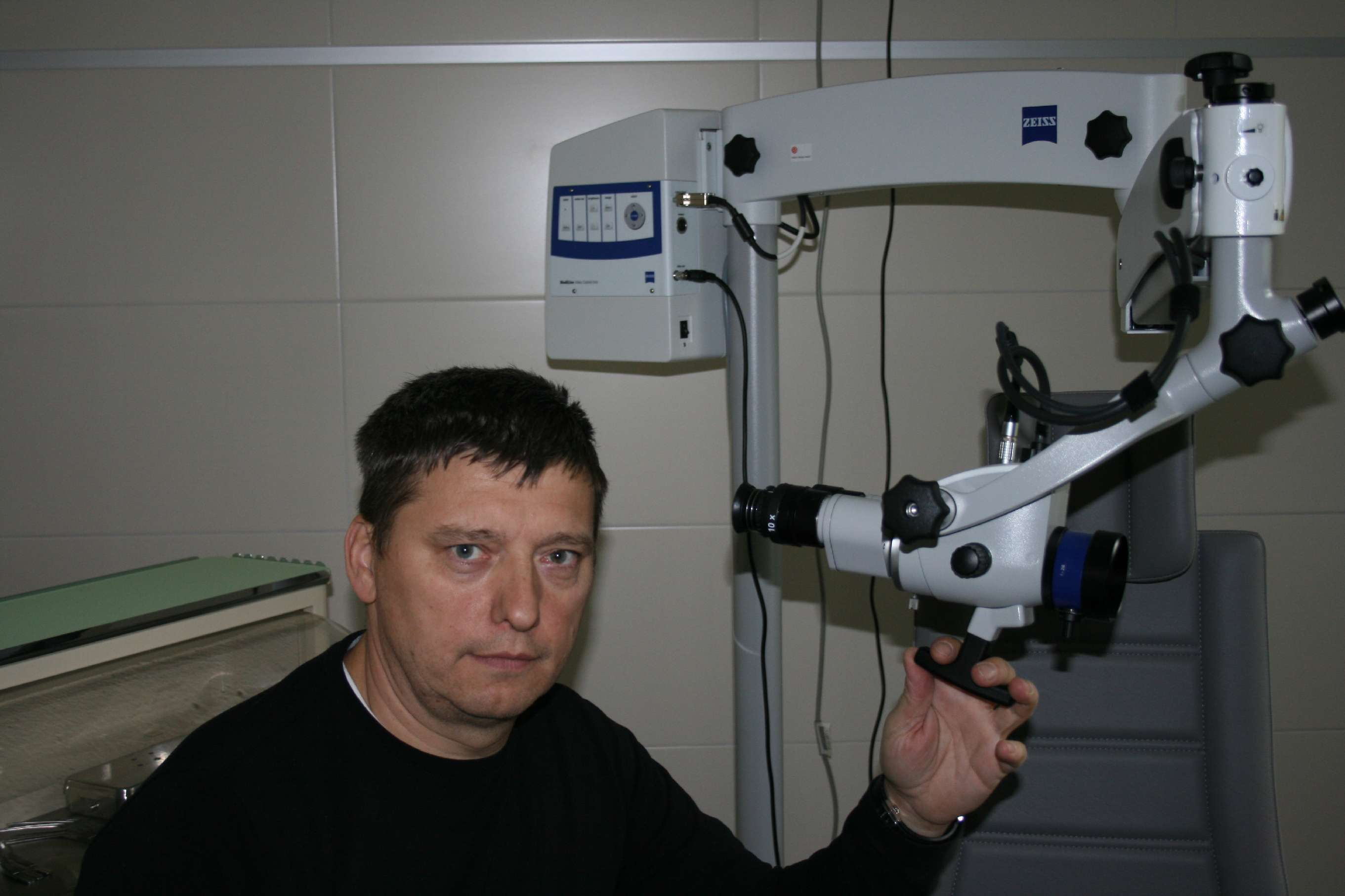 Zeiss-op-mikroskop